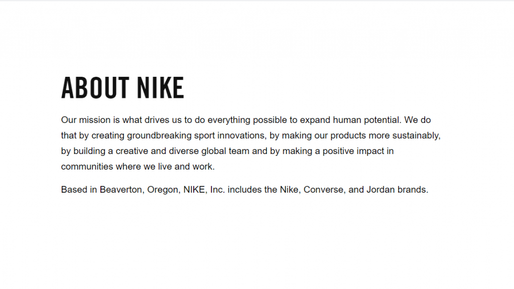 nike-brand-values