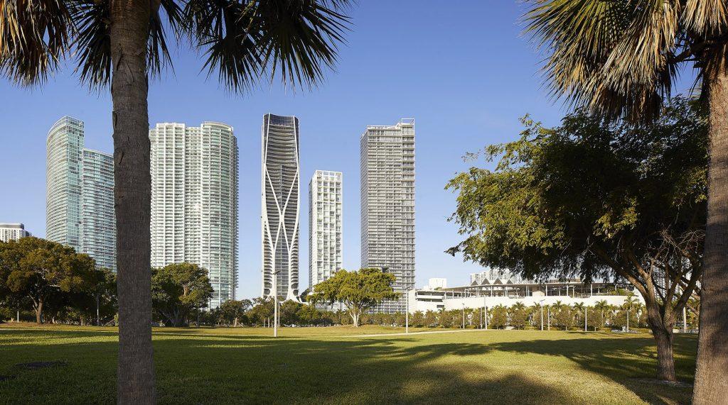 Zaha Hadid building Miami
