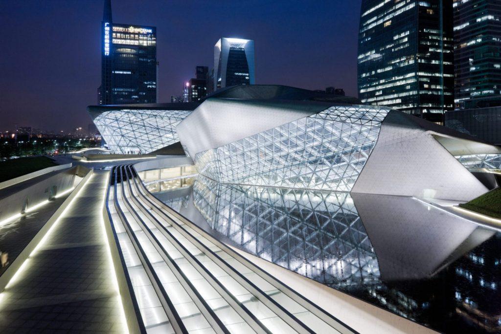 Zaha Hadid opera house China