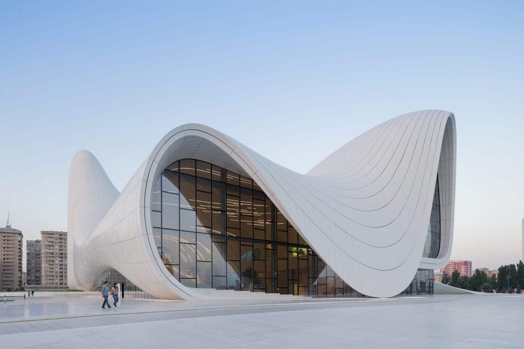 Zaha Hadid cultural centre Baku