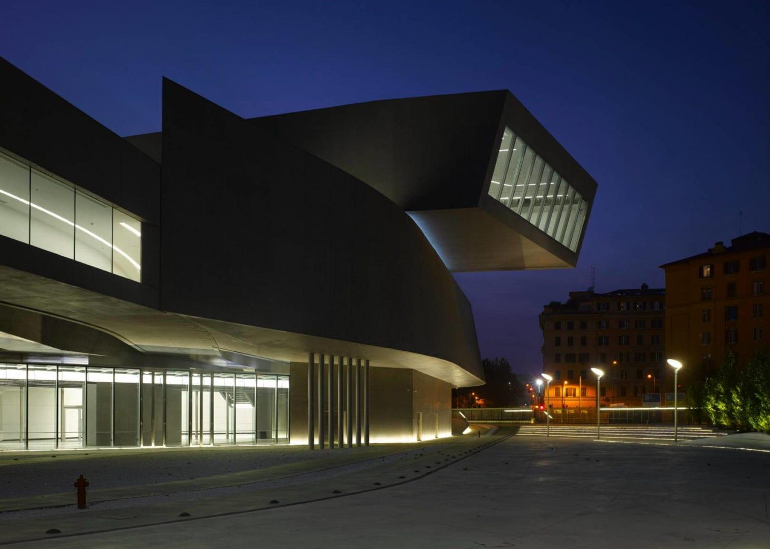 Zaha Hadid building museum Italy