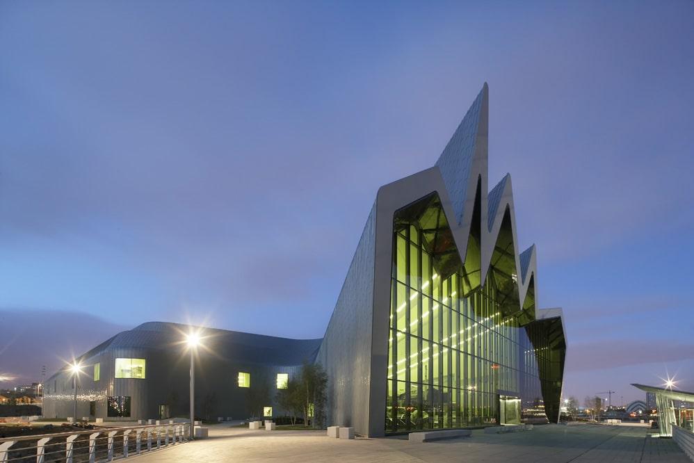 Zaha Hadid building Glasgow