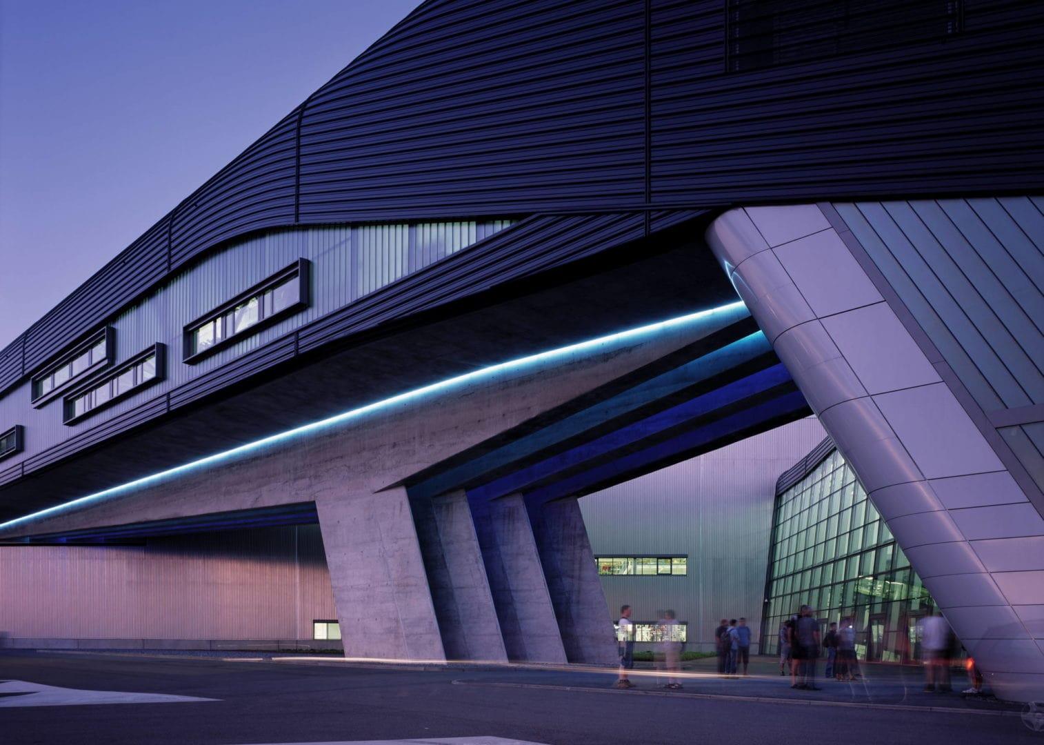 Zaha Hadid building BMW