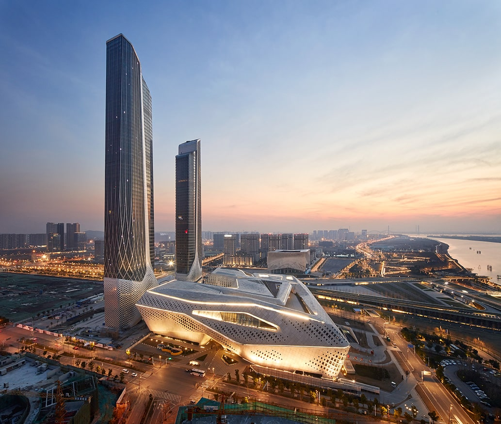 Zaha Hadid building China