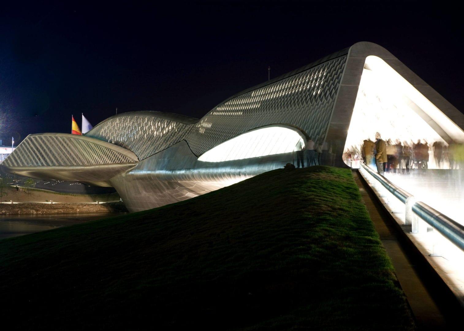 Zaha Hadid bridge Spain